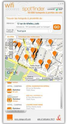 spot 39 finder widget localisant les hotspots wifi. Black Bedroom Furniture Sets. Home Design Ideas