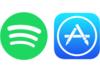 Spotify conspue l'App Store