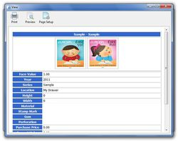Stamp Collection Manager screen2