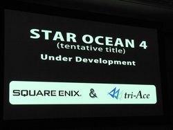 Star ocean conference square enix 3