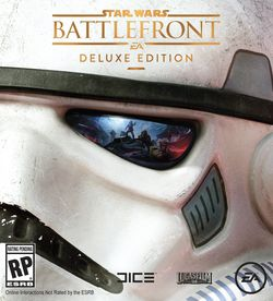 Star Wars Battlefront - pochette