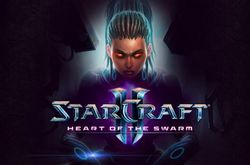 StarCraft 2 Heart of the Swarm - titre