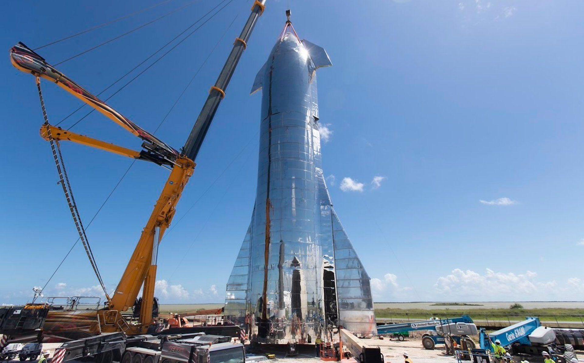 Starship : le lanceur de SpaceX pour Mars est terminé