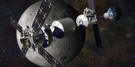 Station orbitale lunaire