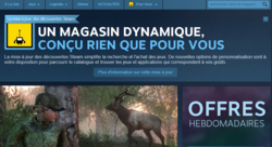 Steam - nouvelle interface - 1