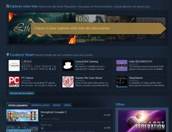 Steam - nouvelle interface - 2