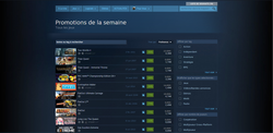 Steam - nouvelle interface - 3