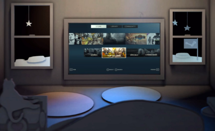 SteamVR desktop theater Mode