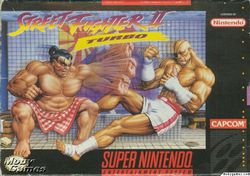 Street Fighter II : Turbo   Pochette