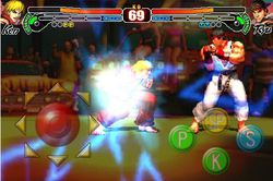 Street Fighter IV iPhone 01