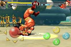 Street Fighter IV iPhone - Zangief - 1