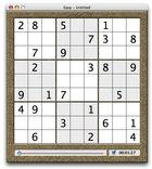SudokuAdept : un jeu de sudoku pour Mac