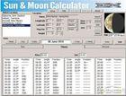 Sun & Moon Calculator : calculer où se trouvent la lune et le soleil