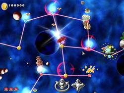Super Mario Forever Galaxy screen1