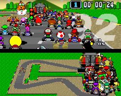 Super Mario Kart - 101 players