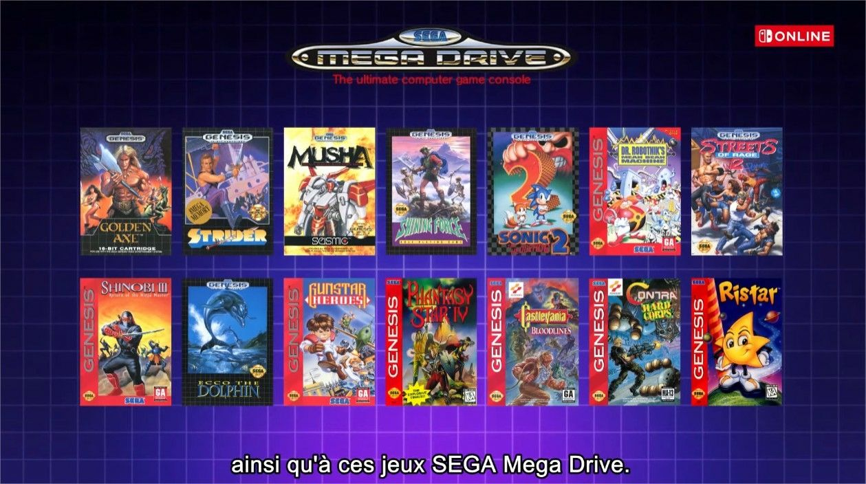 Switch MegaDrive