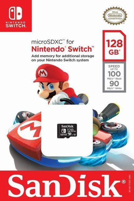 Switch microSD