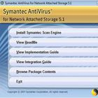 Symantec AntiVirus for Network Attached Storage