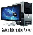 System Information Viewer : Scanner son ordinateur afin d'en connaître les capacités