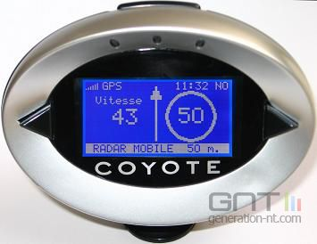 Systeme gps coyote