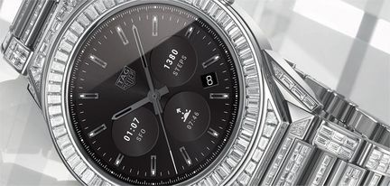 Tag Heuer Modular Connected full diamond