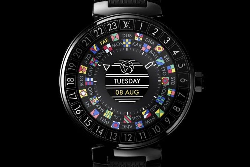 Louis Vuitton présente sa smartwatch hors de prix sous Android Wear