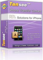 Tansee iPhone Transfer Contact : sauvegarder la liste de contacts de son iPhone