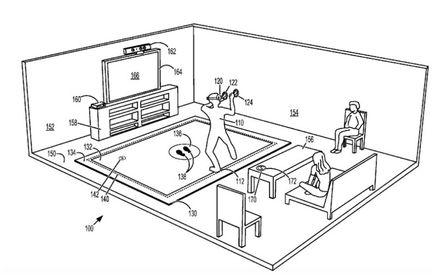 Tapis réalité virtuelle Microsoft