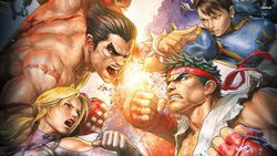 Tekken X Street Fighter - artwork