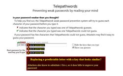 Telepathwords