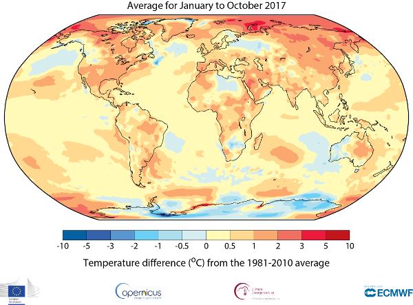 Temperature-moyenne-janvier-septembre-2017-comparaison-moyenne-1981-2010