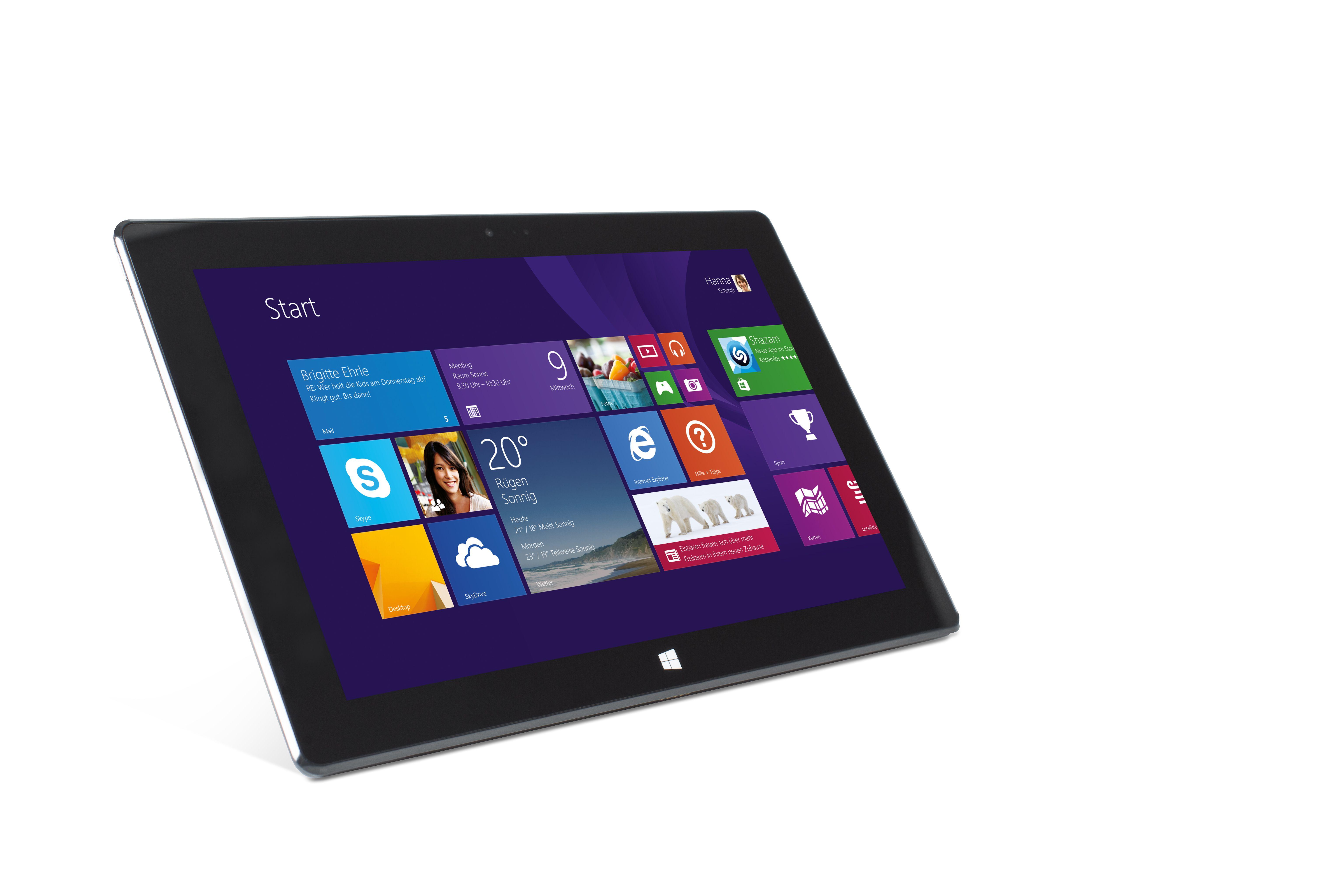 terra pad 1061 tablette windows 8 1 avec intel atom quad. Black Bedroom Furniture Sets. Home Design Ideas