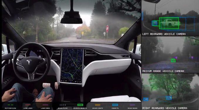 Tesla : une nouvelle puce pour l'Autopilot d'ici six mois, jusqu'à 2000% plus performante
