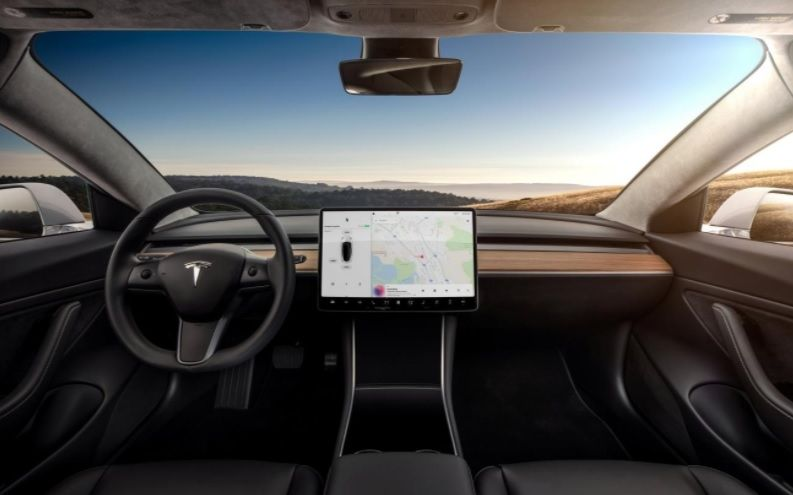 Tesla Model 3 interieur
