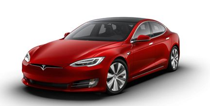 Tesla Model S mode plaid