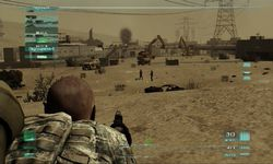 test ghost recon advance warfighter 2 ps3 image (1)