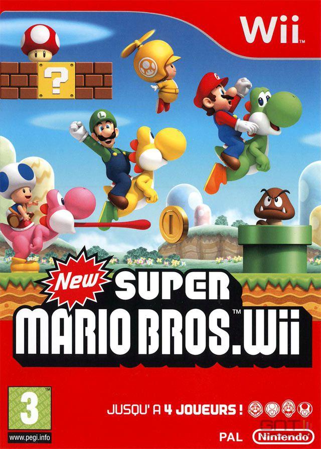 Test New Super Mario Bros Wii