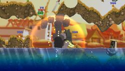 test worms open warfare 2 psp image (11)