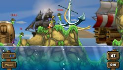 test worms open warfare 2 psp image (8)
