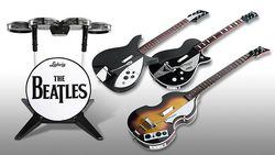 The Beatles : Rock Band - instruments