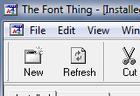 The Font Thing : gérer les polices de caractères