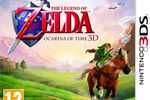 The Legend of Zelda Ocarina of Time 3DS - jaquette Europe