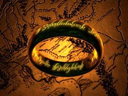 The One Ring 3D Screensaver screen 1