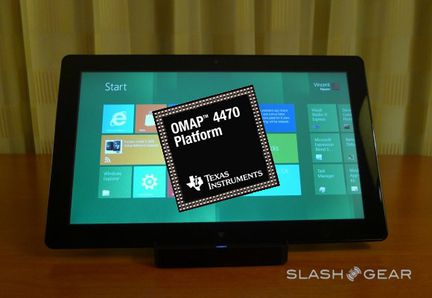 TI OMAP4470 Windows 8