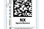 timbre 2D Nexence logo pro