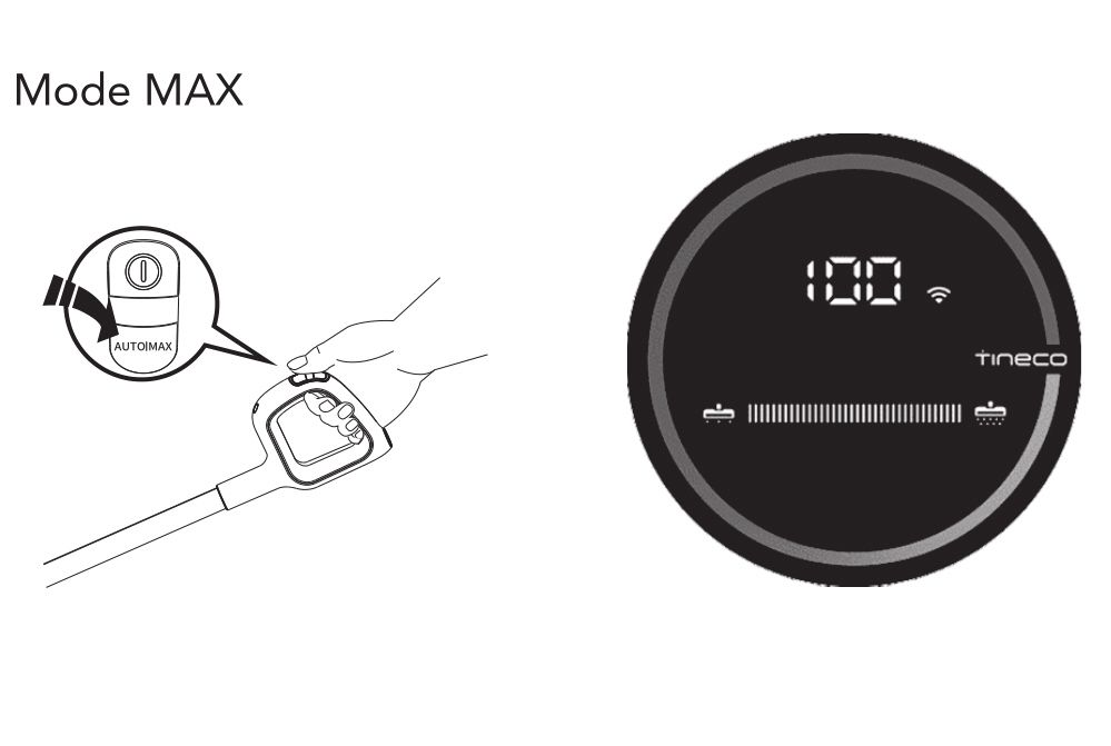 Tineco Floor One S3 - Mode MAX