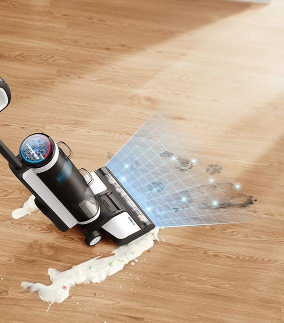 Tineco Floor One S3 - poussière et lavage