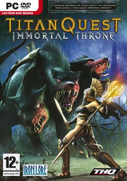 Titan Quest : Immortal Throne - packshot