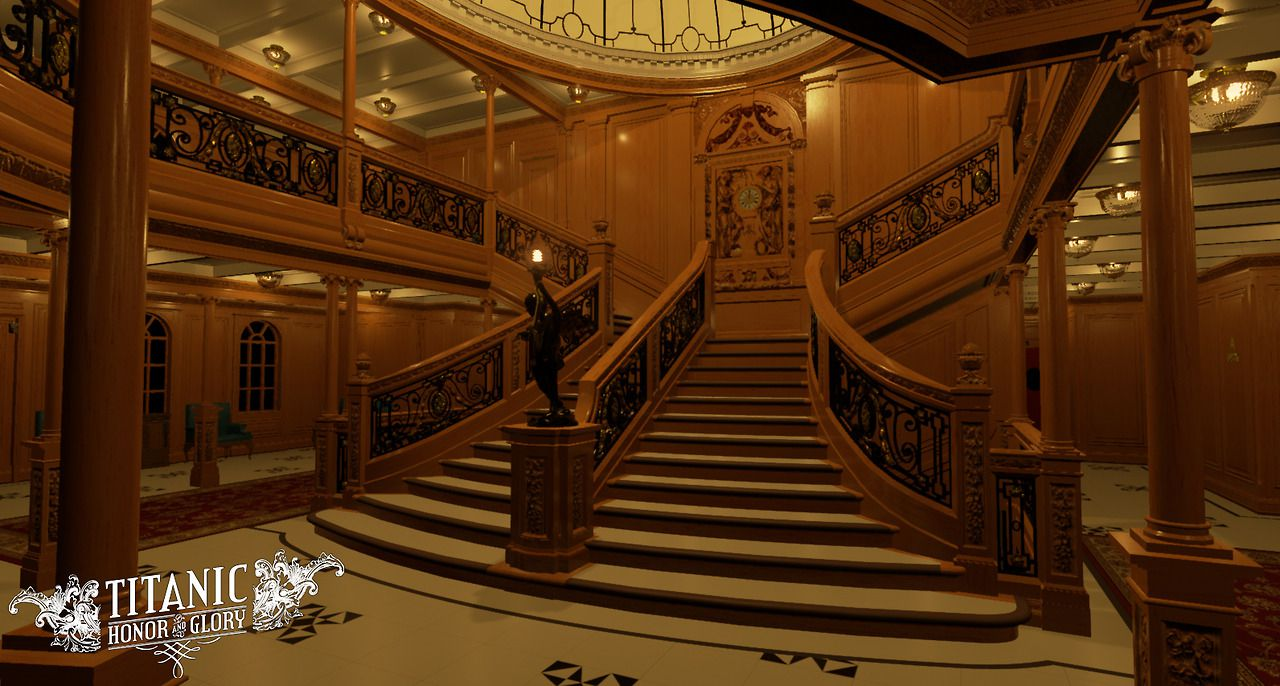 Le titanic recr avec l 39 unreal engine 4 vid o in dite for L interieur trailer