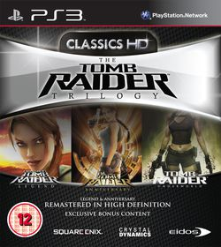Tomb Raider Trilogy - pochette